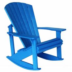 Alsterstuhl - Schaukelstuhl blau