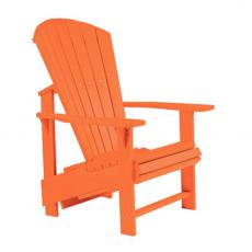 Alsterstuhl Aufrecht orange