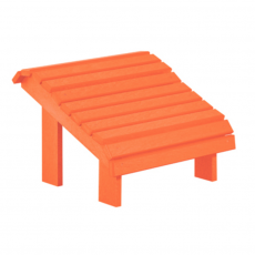 Fußbank Alsterstuhl Orange